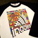 DJ-INAオフィシャルグッズ/Inades ラグラン2017ホワイトxブラック