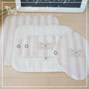 布ナプキン**Wide Stripe*Baby Pinkライナータイプ【2024】