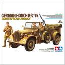 """プラモデル タミヤ 1/35 ドイツ中型軍用車 ホルヒKfz.15 """"北アフリカ戦線""""  37015"""