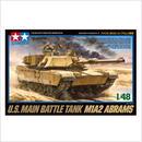 プラモデル タミヤ  1/48 アメリカ M1A2 エイブラムス戦車 32592