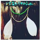 turquoise hair ornament-バレッタ-