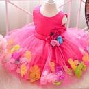花びらドレス【ビビッドピンク】