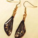 【蝉】Cicada Pierce Mini - Gold Black -