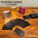 """SLOWER """"PLAYING CARDS"""" Metallic"""