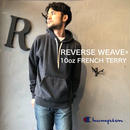 """Champion """"REVERSE WEAVE® 10oz PULLOVER HOODED SWEAT"""" Dk.Gray"""