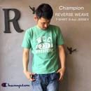 "Champion REVERSE WEAVE ""T-SHIRT 9.4oz JERSEY""  M.Green"