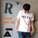 "POLeR ""STATE TEE"" White"