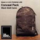 "THE BROWN BUFFALO ""Conceal Pack"" Black Multi Camo"
