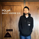 """POLeR """"BAGIT HOODIE 2.0"""" Black"""