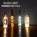 "GLASS LIGHT ""NUMBER BOTTLE"""