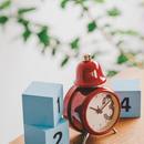 丸太調アラームベル置き時計 「Belluno - ベルーノ -」CL-1280