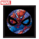 【USA直輸入】MARVEL スパイダーマン フレーム ウォールデコ 看板 ポスター   壁掛け インテリア