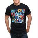 【USA直輸入】DCコミックス バットマン フェイス Tシャツ 歴代 BATMAN DC