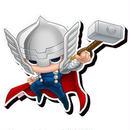 【USA直輸入】MARVEL ソー Thor チビ マグネット 磁石 正規品 マーベル