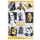 【USA直輸入】STARWARS ウォールデコ スターウォーズ 9分割 メタリック キャンバス 看板