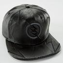 【USA直輸入】DC フラッシュ プロフェッサー Zoom ズーム  ロゴ キャップ スナップバック ハット 帽子 フェイクレザー DCコミックス