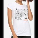 【USA直輸入】 The Shining シャイニング オーバールック ホテル マップ レディース Mサイズ Tシャツ  Overlook  ホラー 映画 ダニー