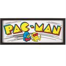 【USA直輸入】ブリキ看板 アーケード パックマン Pac-Man フレーム付き 看板  ポスター  GAME ゲーム