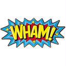 【USA直輸入】 DCコミックス WHAM 文字 メタル ブリキ看板 吹き出し 文字 アメコミ 効果音 壁掛け DC