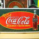 アメリカンブリキ看板 コカ・コーラ 爆発風ロゴ