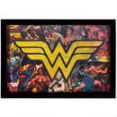 【USA直輸入】DC ワンダーウーマン ロゴ コミック 3D ウォールデコ 看板 ポスター   壁掛け インテリア3D ウォールデコ 看板 ポスター 壁掛け インテリア DCコミックス