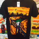 【海外商品】ジョーカー ムンク Tシャツ Sサイズ バットマン DCコミックス 正規ライセンス