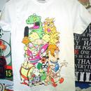 【USA直輸入】ニコロデオン オールスター Tシャツ XSサイズ 正規ライセンス
