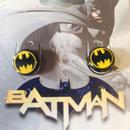 【USA直輸入】DCコミックス バットマン ロゴ スタッド ピアス 正規ライセンス品