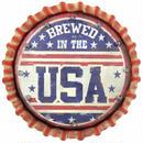【USA直輸入】ウォールデコ ライトアップ USA 王冠型 ソーラー ブリキ看板 メタルサイン ブリキ 看板  ポスター