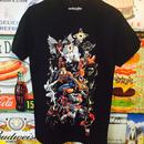 【海外商品】スパイダーマン いっぱい Tシャツ Spiderman  マーベル ヒーロー