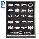 【USA直輸入】DCコミックス バットマン シンボルズ ロゴ マーク メタルサイン ウォールデコ  看板