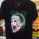 【海外商品】ジョーカー フェイス Tシャツ スーサイドスクワッド 正規ライセンス
