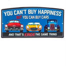 【USA直輸入】ブリキ看板 Can Buy Cars エンボス加工 KINDA メタルサイン ブリキ 看板  企業 ブリキ看板 ポスター