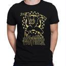 【USA直輸入】MARVEL ブラックパンサー ゴールドライン Tシャツ マーベル ワカンダ