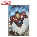 【USA直輸入】MARVEL アイアンマン コミック ウォールデコ 看板 壁掛け ウッド 木製 マーベル