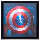 【USA直輸入】MARVEL キャプテンアメリカ 新旧 シールド 3D ウォールデコ 看板 ポスター   壁掛け インテリア