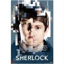 【USA直輸入】SHERLOCK シャーロック ワトソン 顔アップ ロゴ ポスター 221B カンバーバッチ BBC ベーカーストリート ジョン ホームズ