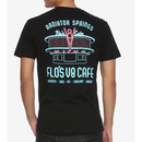 【USA直輸入】DISNEY カーズ フローのV8カフェ Flo's V8 Cafe Tシャツ バックプリント ルート66 Route 66 ディズニー  CARS  ピクサー