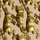 ドイツ ドレスデン ホイル ウサギ 3セット