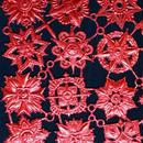 ドイツ ドレスデン ホイル 紋章 赤 12セット