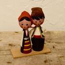 ハンガリー 民族衣装のカップル
