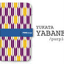 手帳型ケース YABANE/Purple