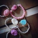 Pink鉱石ブレスレット