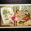 ◆フランス Au bon marché 童話シリーズ アンティーククロモス◆赤ずきんちゃん