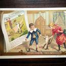 ◆フランス Au bon marché 童話シリーズ アンティーククロモス◆長靴をはいた猫