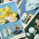 1955年イタリア◆鉱物6種アンティーク・ビンテージカード