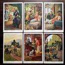 ◆眠れる森の美女◆ドイツアンティークポストカード6枚セット