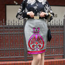 VERSACE グレンチェックデザインスカート