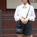 FENDI シースルーズッカパターンシャツ ホワイト