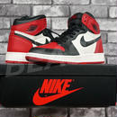 NIKE AIR JORAN 1 RETRO HIGH OG BRED TOE BG 575441-610 US4 23CM ナイキ エアジョーダン つま赤